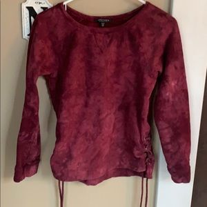 Sanctuary colours wound neck sweatshirt.